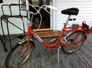 Vintage Bianchi Nealeco Folding Bicycle