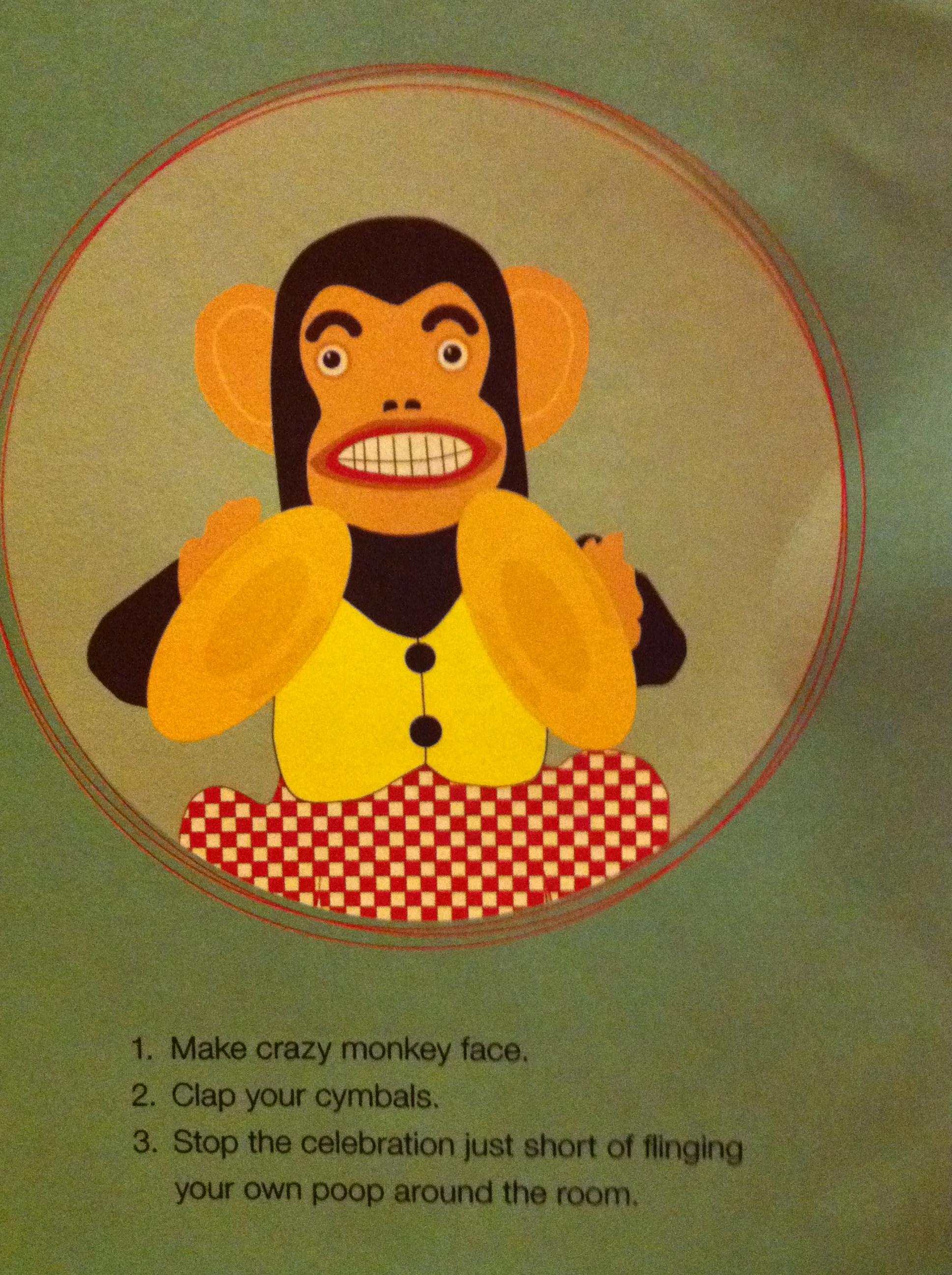 Silly Monkeys – Birthday Card Monkey