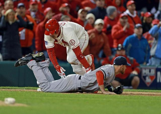 Will Middlebrooks obstuction play that cost the game. Boston Globe