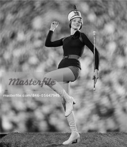 Majorette Hot Pants--major babe I think!